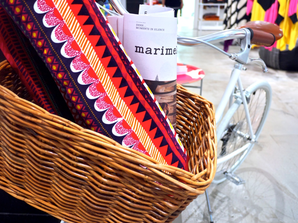 Marimekko Bike with Basket