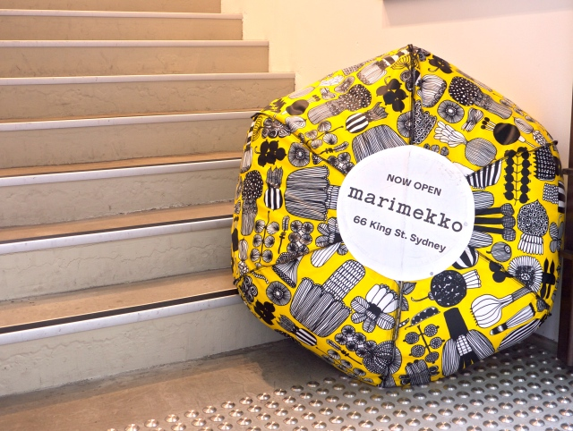 Marimekko Door Display