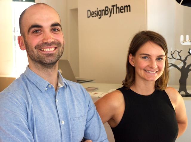 Nicholas Karlovasitis and Sarah Gibson