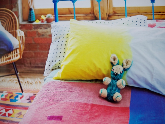 Beci Orpin Find & Keep Book Dyed Bedspread