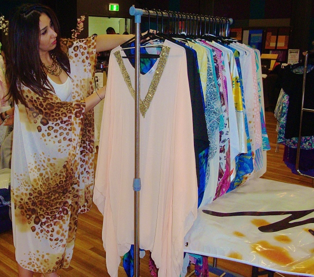 Nermin Salih with her Clothing