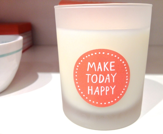 Kikk K Make Today Happy Candle