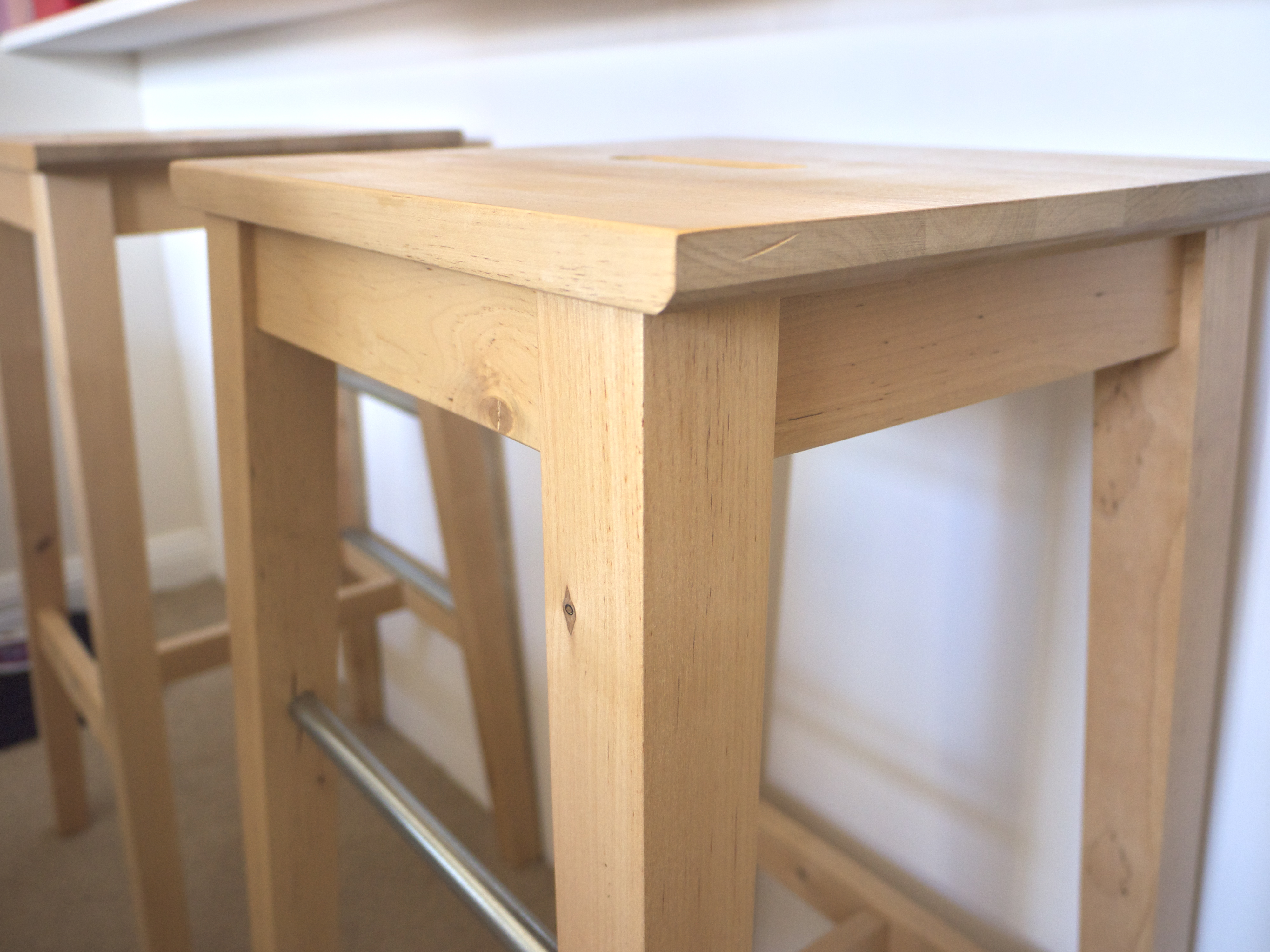 Raw Timber Chairs from IKEA
