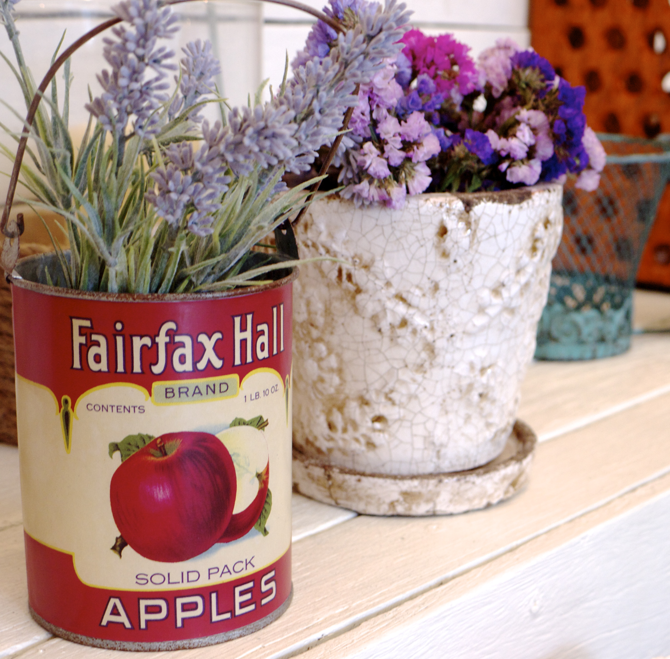 Sky Parlour Lavender in Vintage Tin