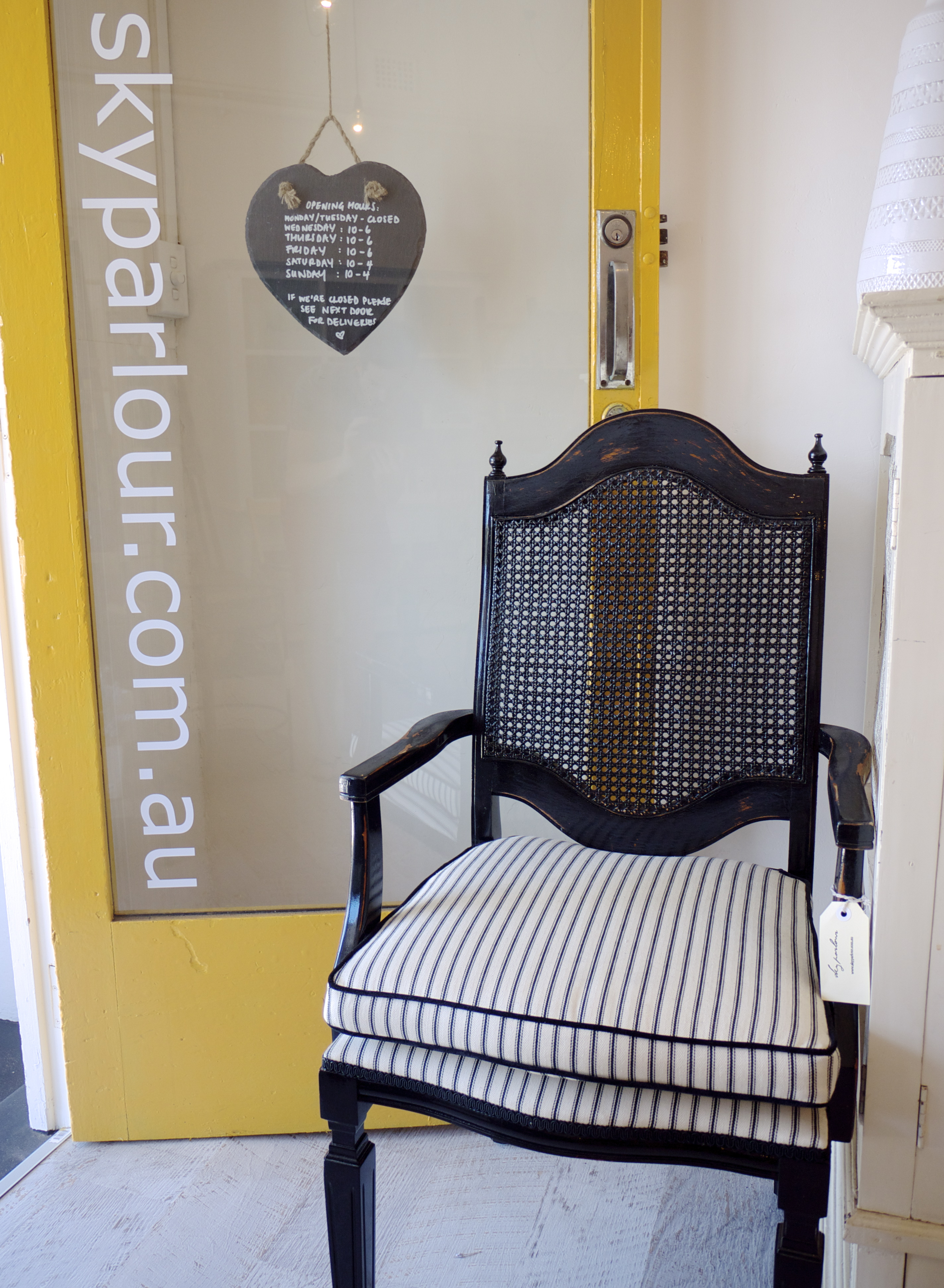 Sky Parlour Chair and Front Door