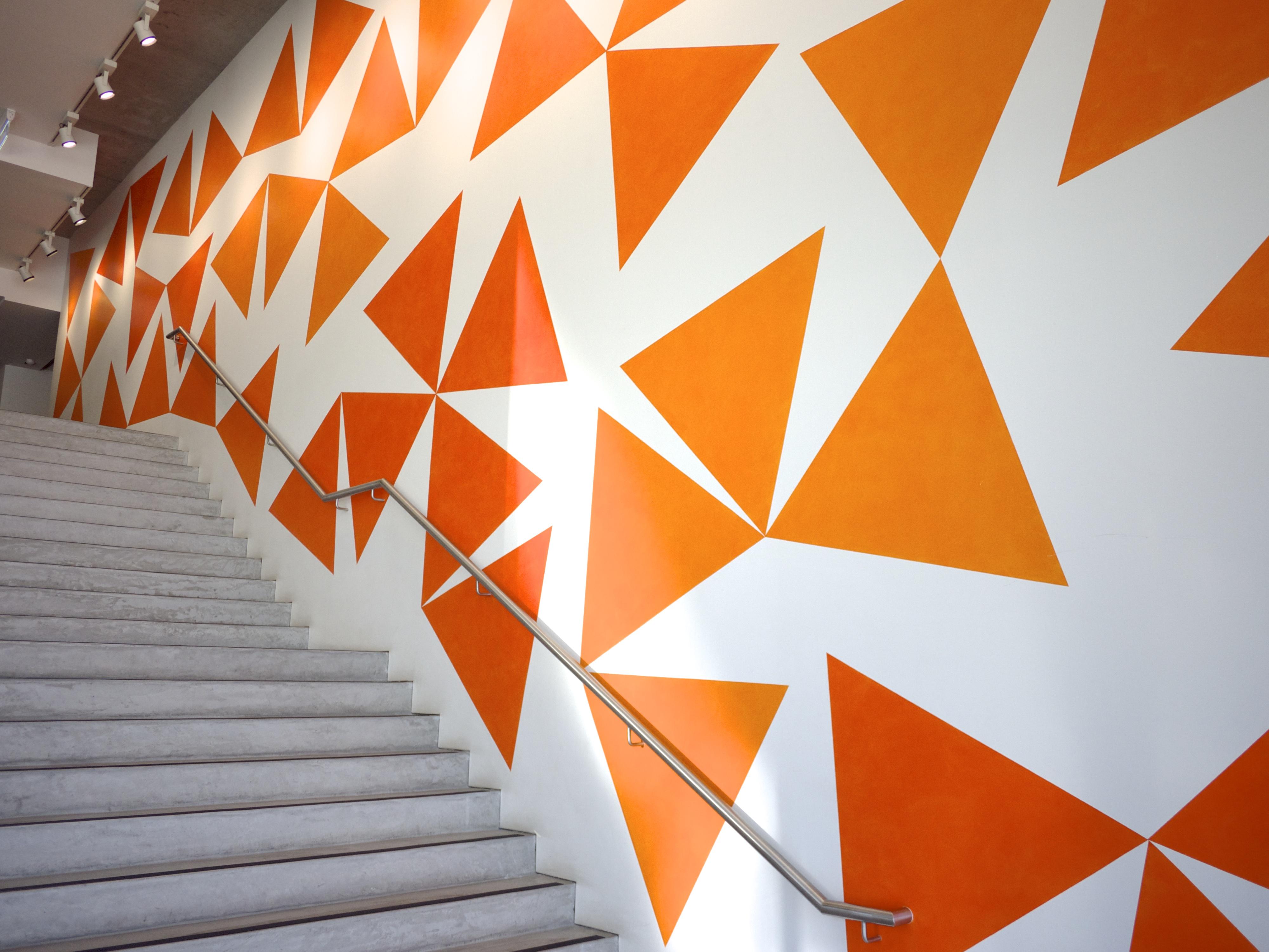 Citrus Colour - Orange Wall at MCA