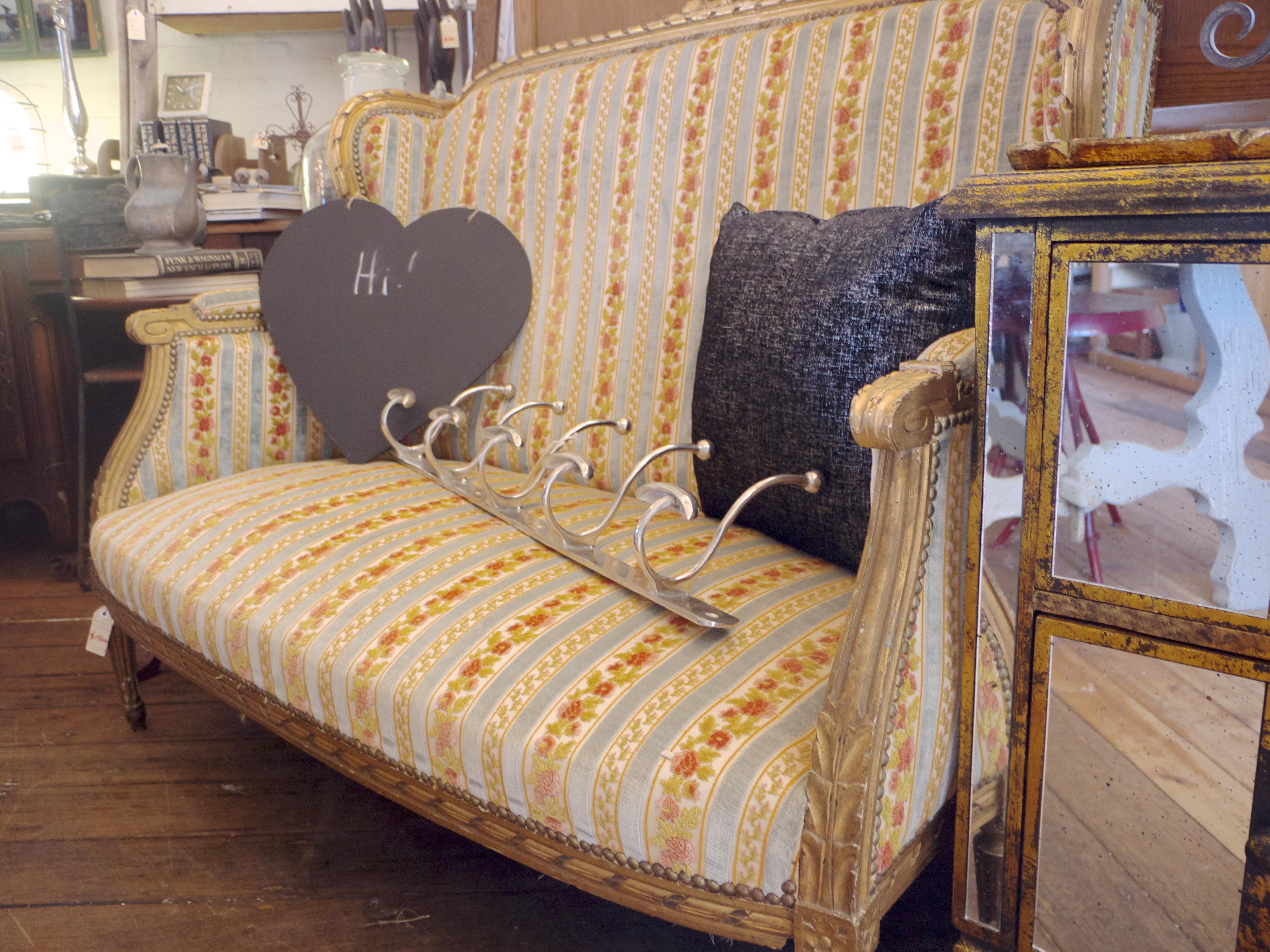 The Bronte Tram - Vintage Sofa