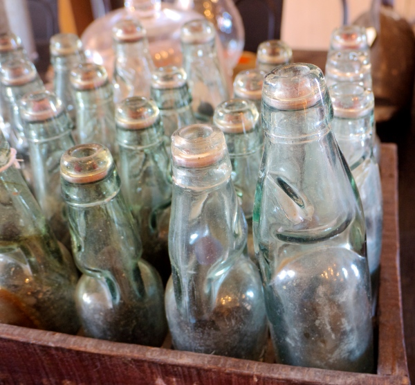 The Bronte Tram - Vintage Glass Bottles