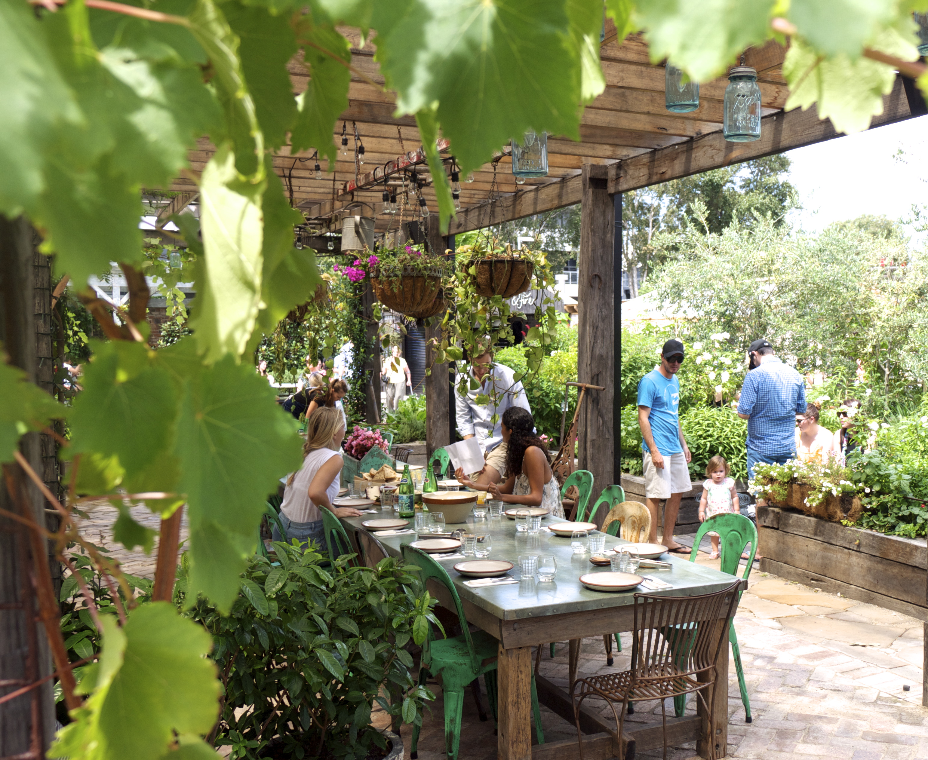 The Grounds of Alexandria - Outdoor Seating