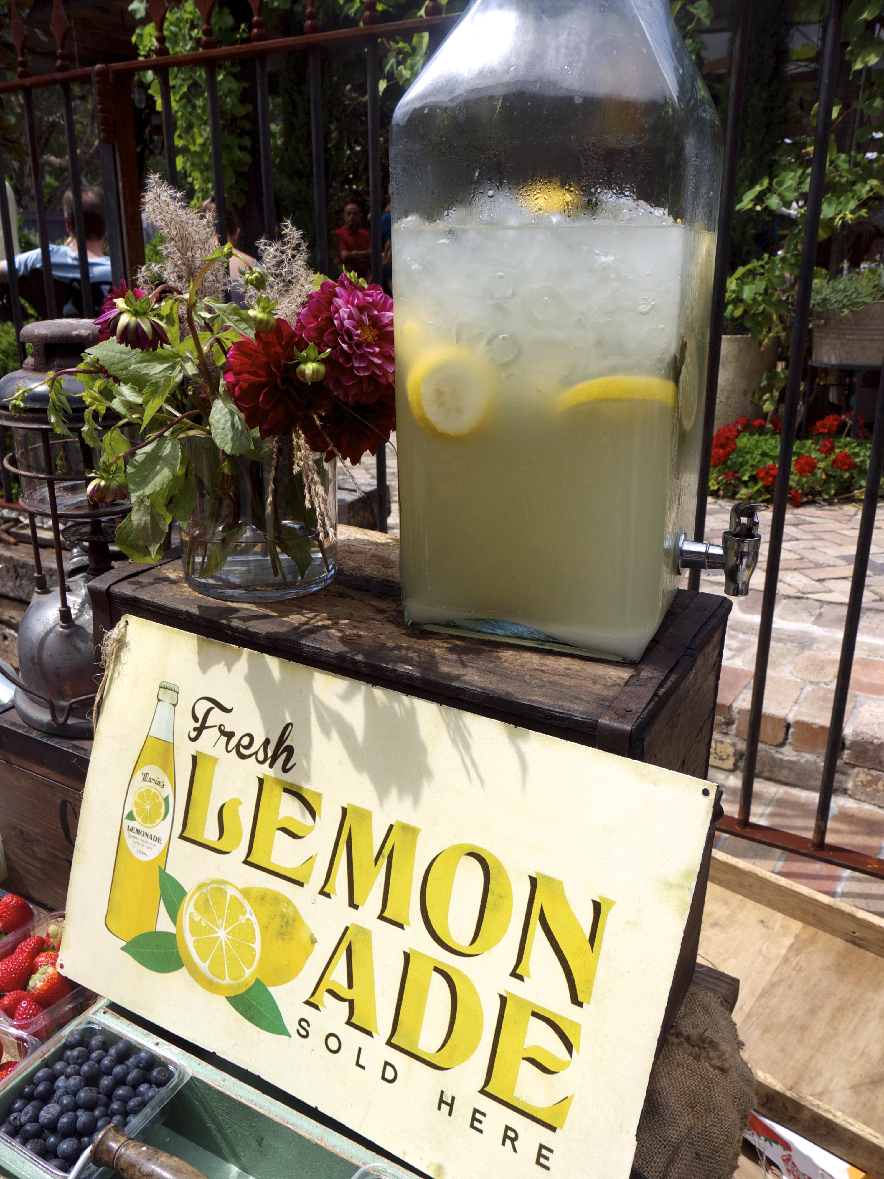 The Grounds of Alexandria - Fresh Lemonade Stand