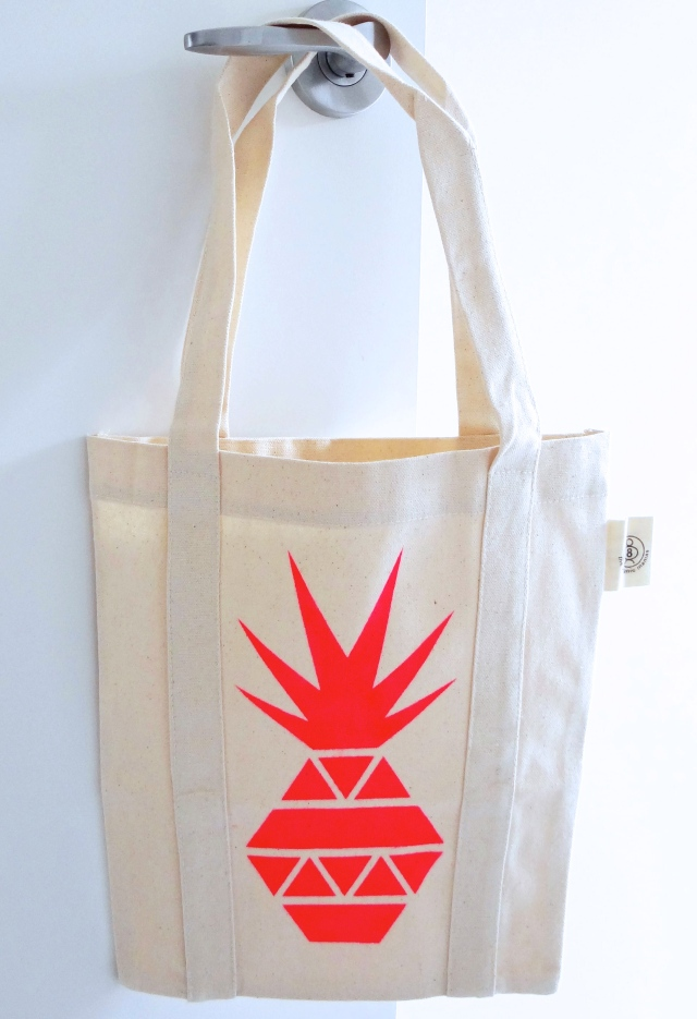 Neon Decor - Pineapple Tote from Miss Paperie