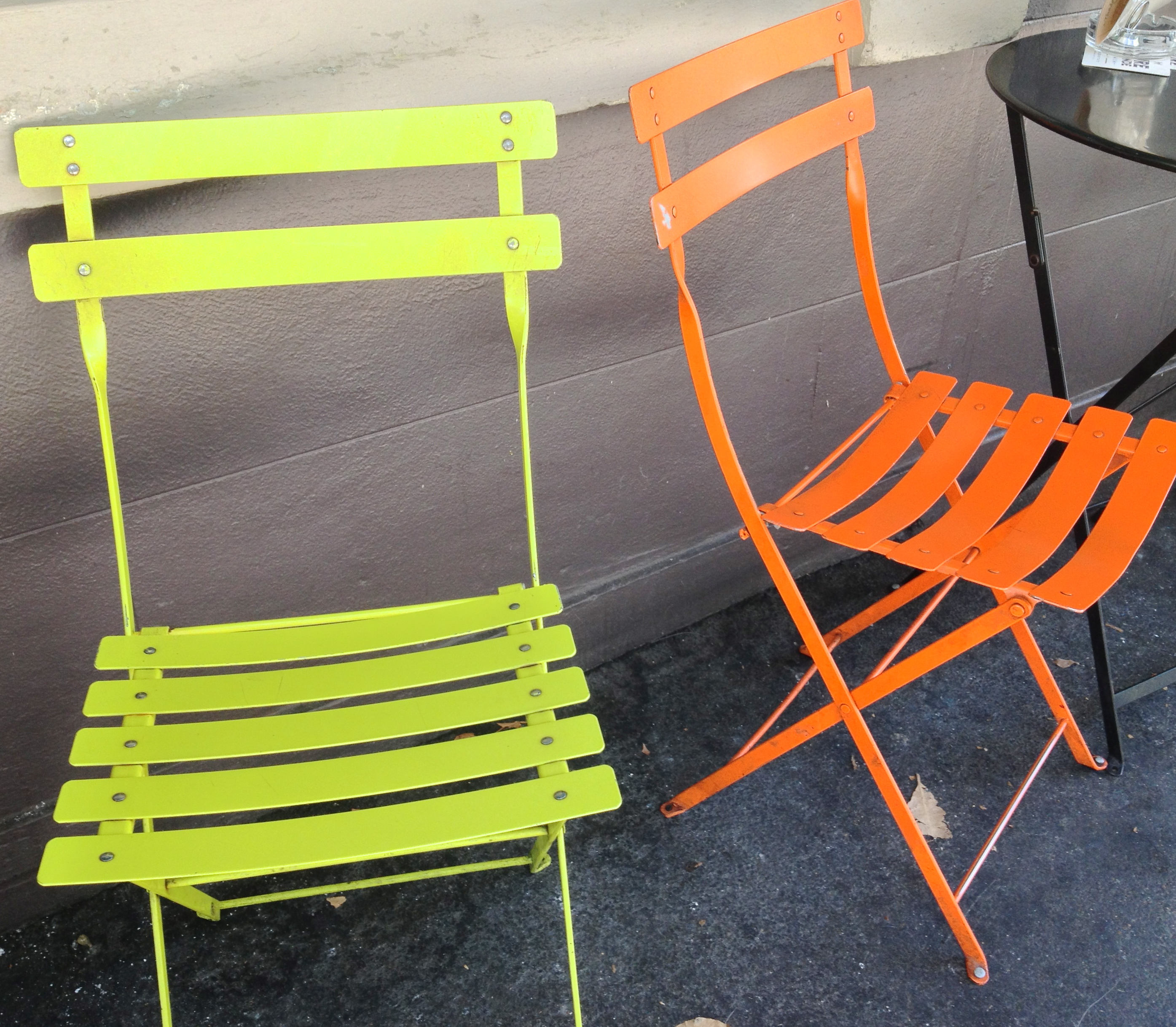 Neon Decor - Outdoor Chairs from Darly Bar