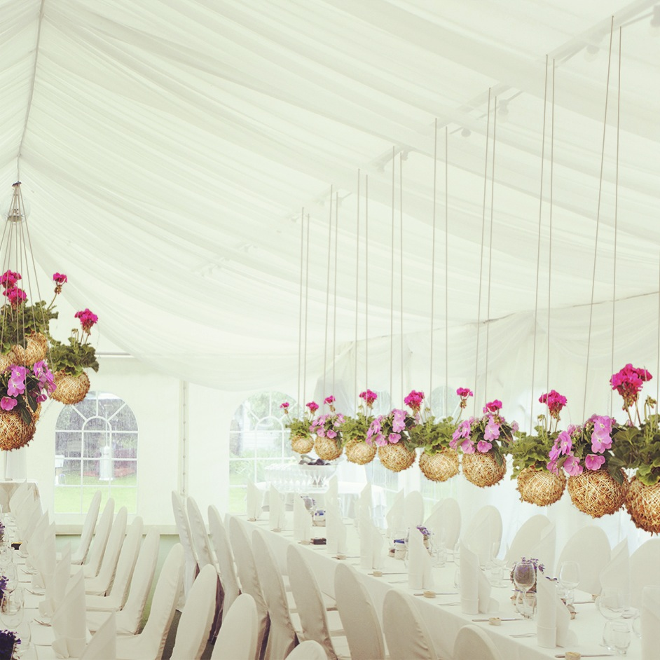 Mister Moss Wedding reception decoration