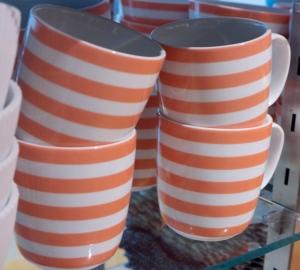 Country Road Apricot Stripe Mug