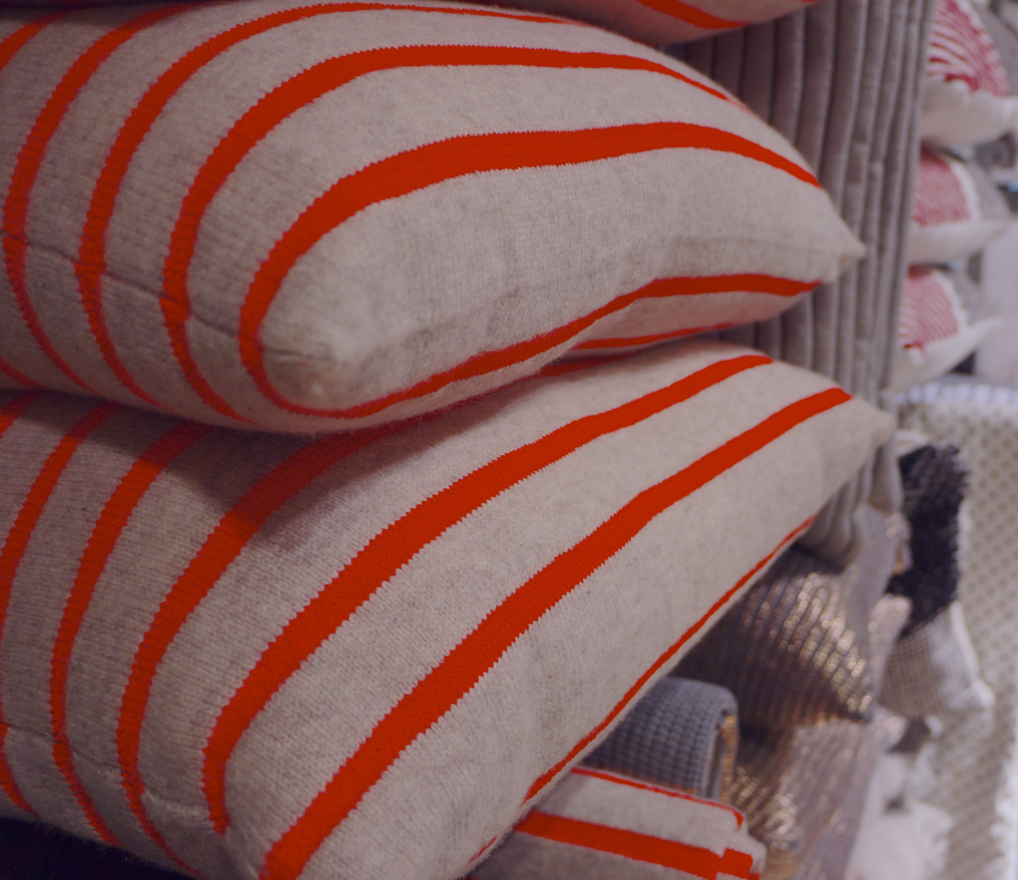 Neon Decor - Striped Cushions from Country Road