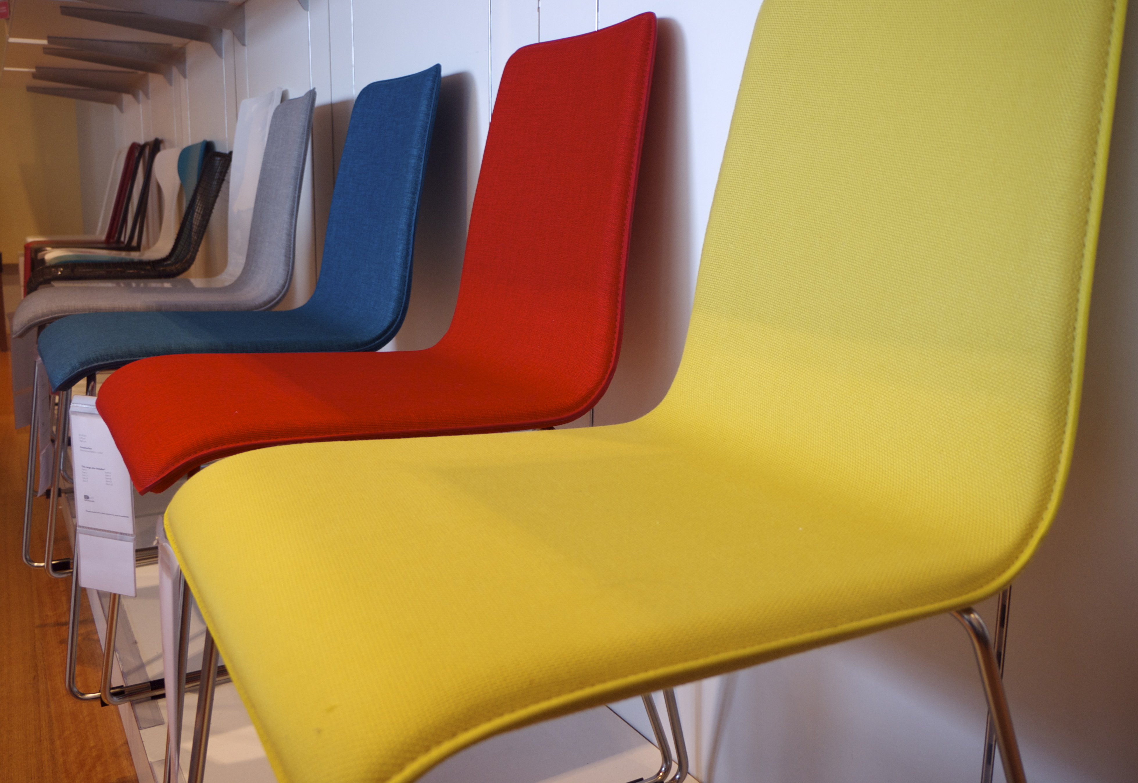 Freedom Top Ryde - Colourful Dining Chairs