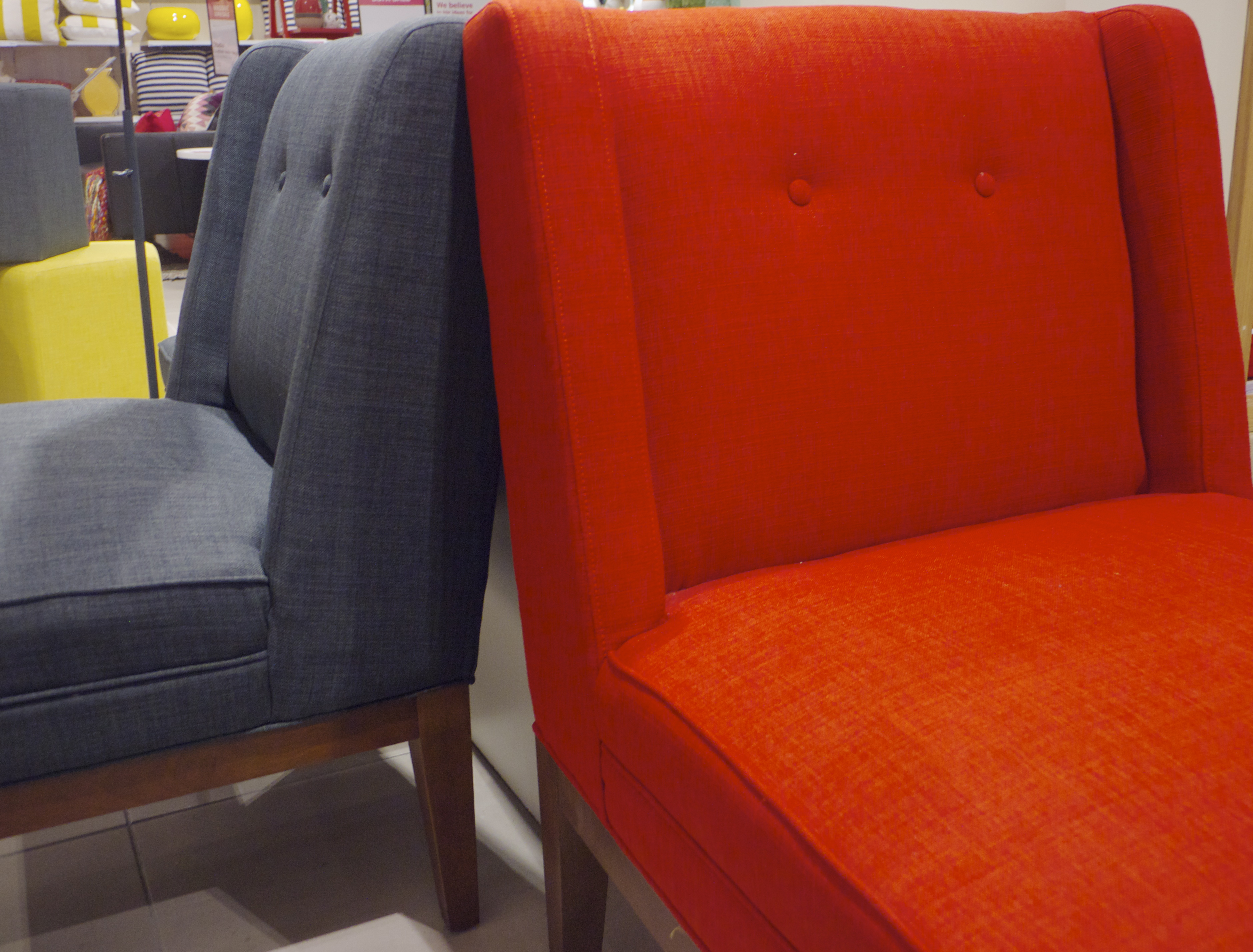 Freedom Top Ryde - Red and Grey Astrid Chair