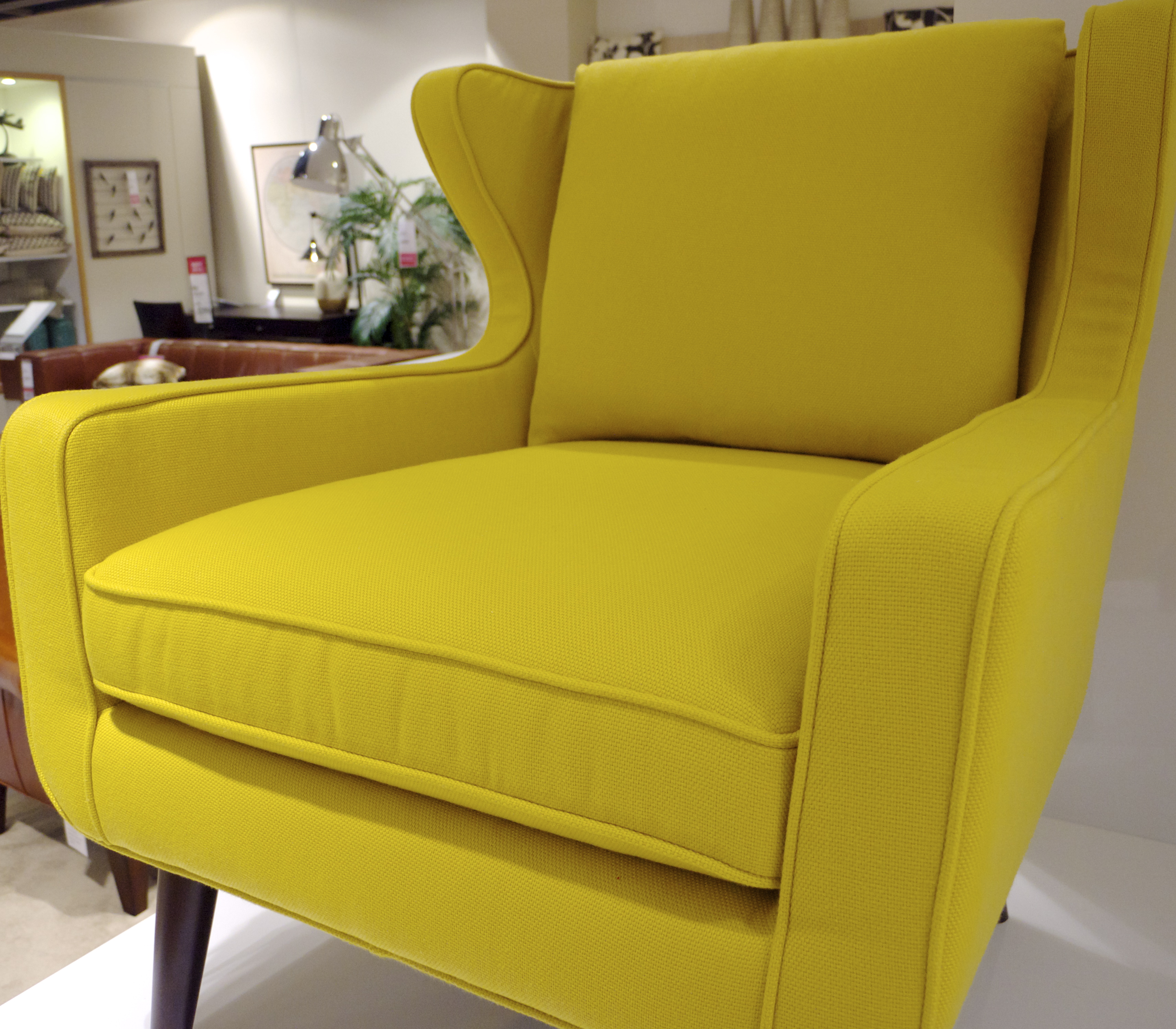 Freedom Top Ryde - Yellow Armchair