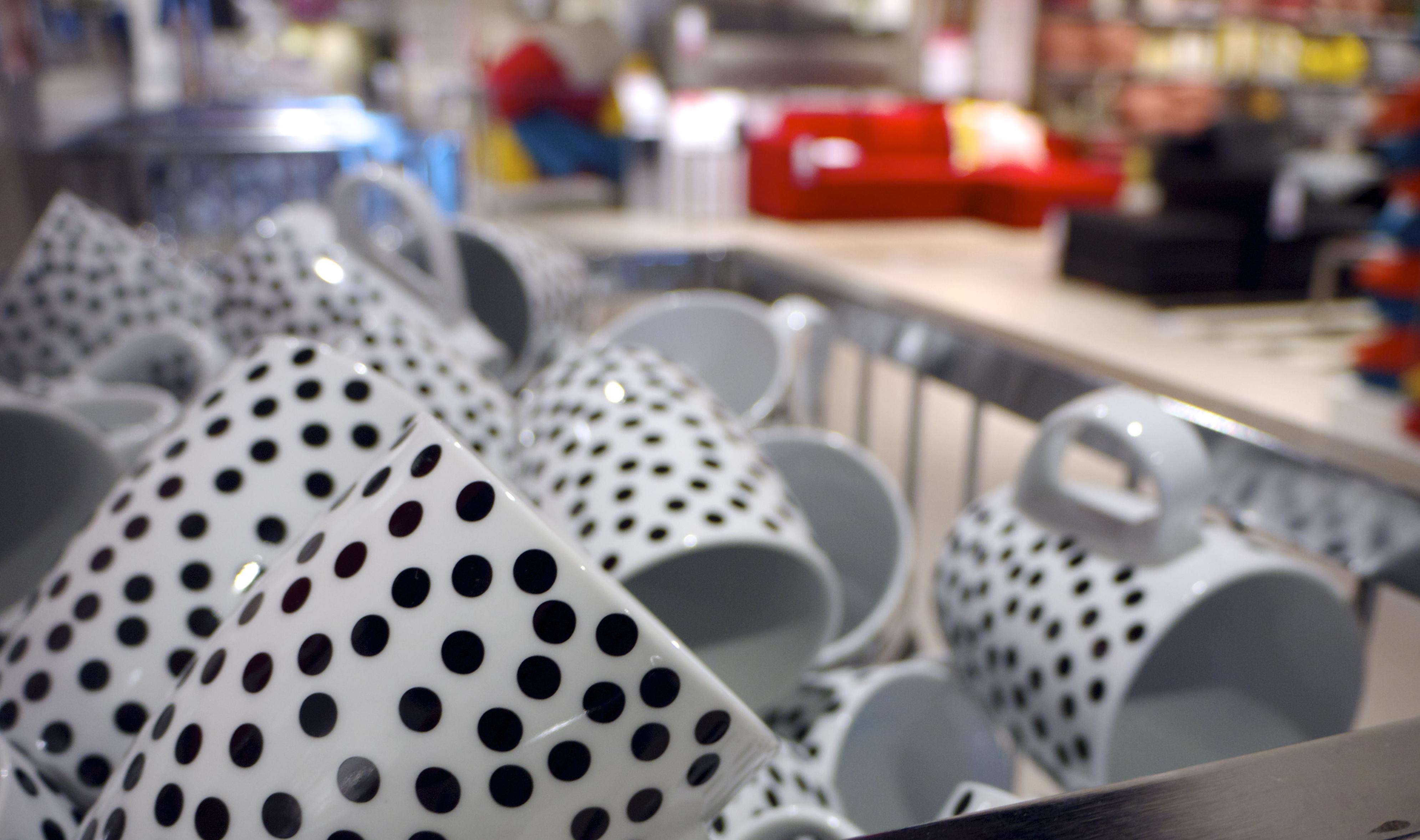 Polka Dot Mugs from Freedom