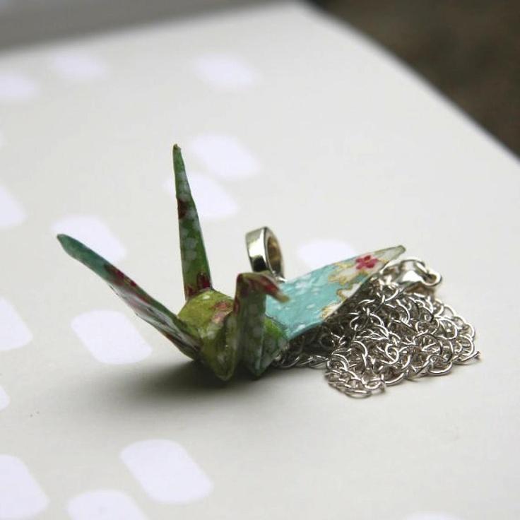 Nookroad Origami Crane Jewllery