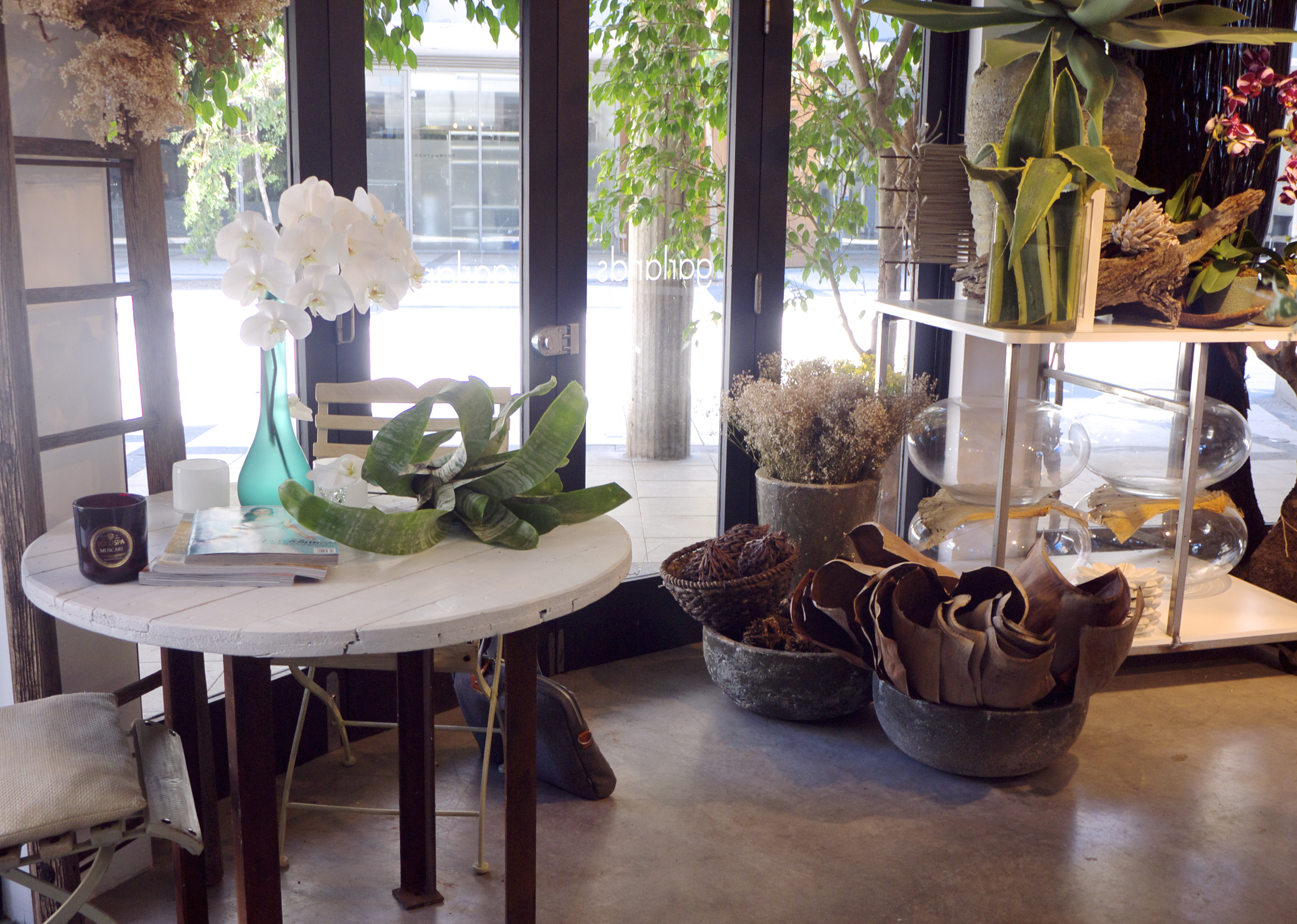 Inside Garlands Florist, Surry Hills