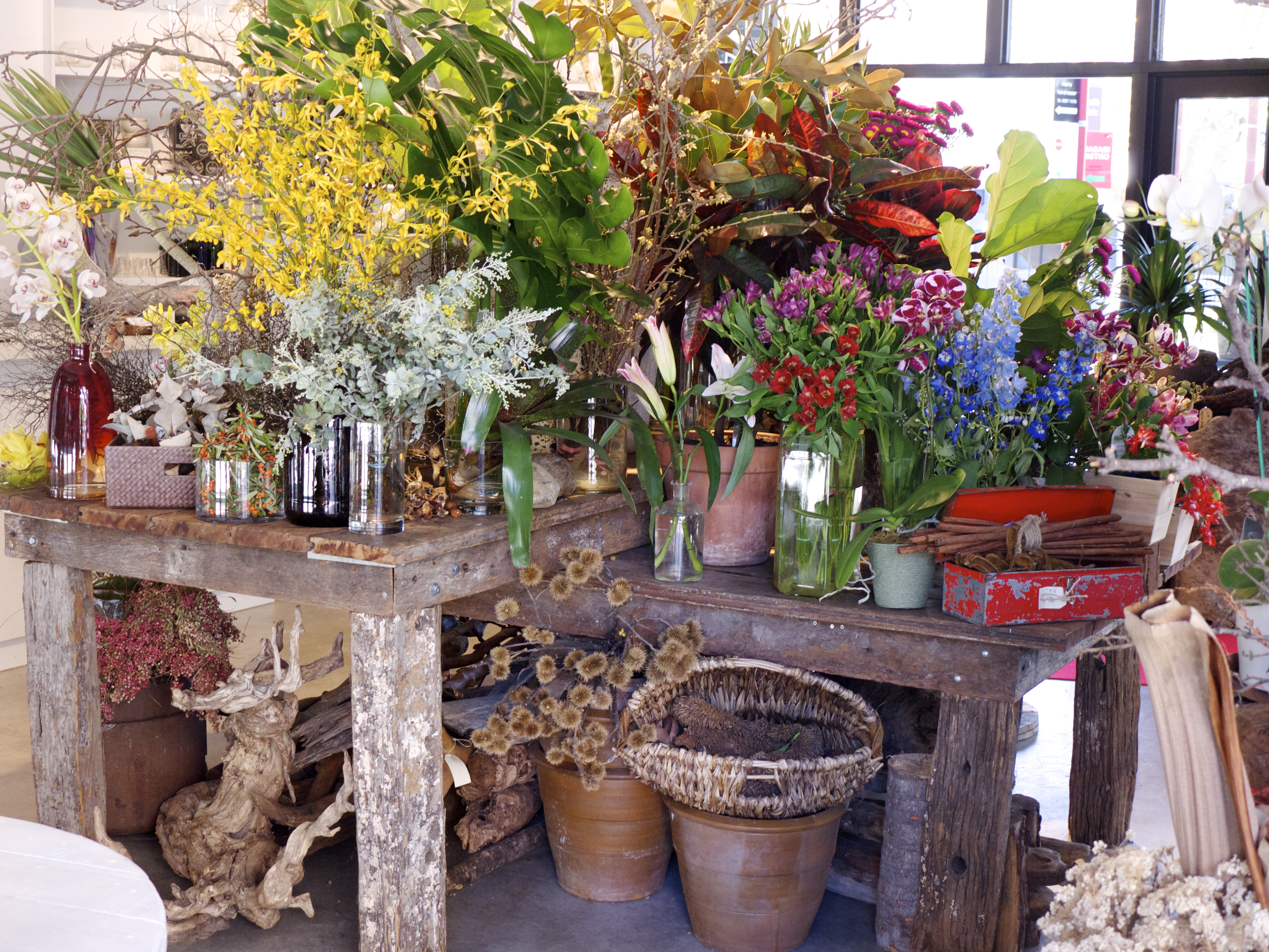 Flower Table - Garlands Florist, Surry Hills