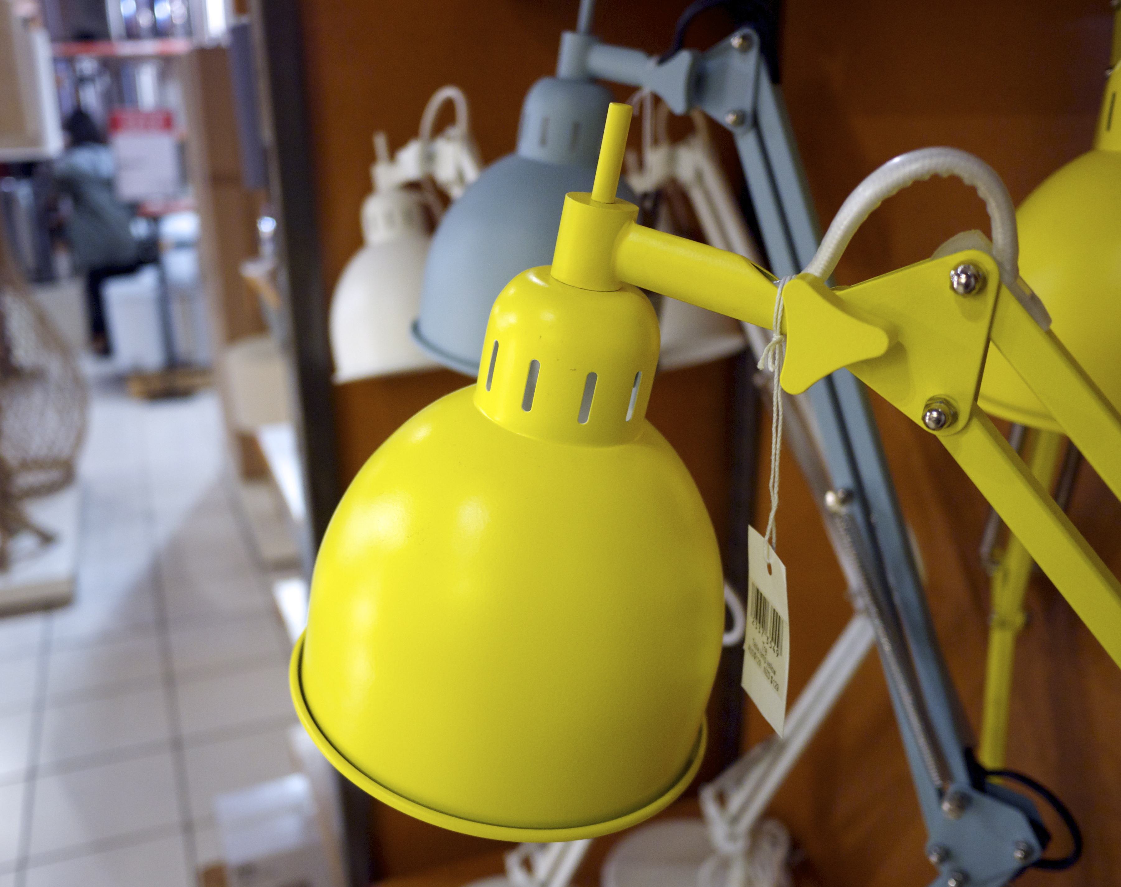 Yellow Lamp from Freedom at the Supa Centa