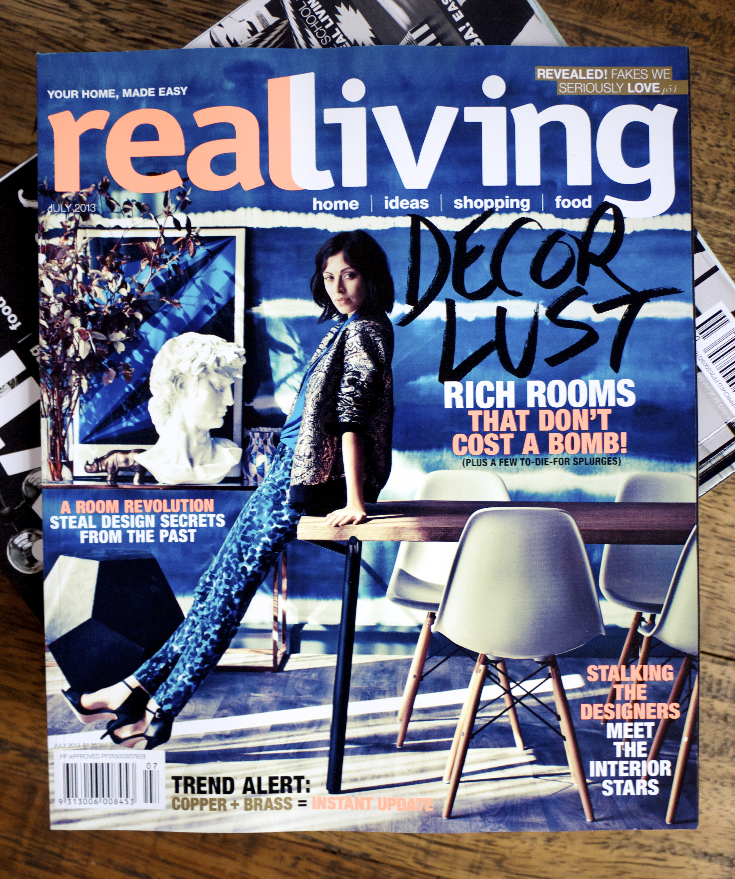 Real Living Magazine Front Cover