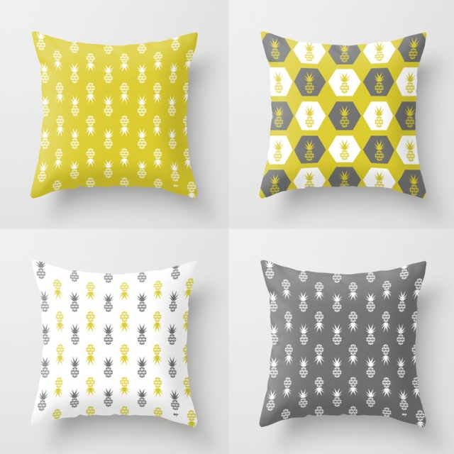 Scatter Pines & Hexagon Pines Cushions
