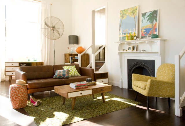 Brown Sofa - Oxford - from Oz Design