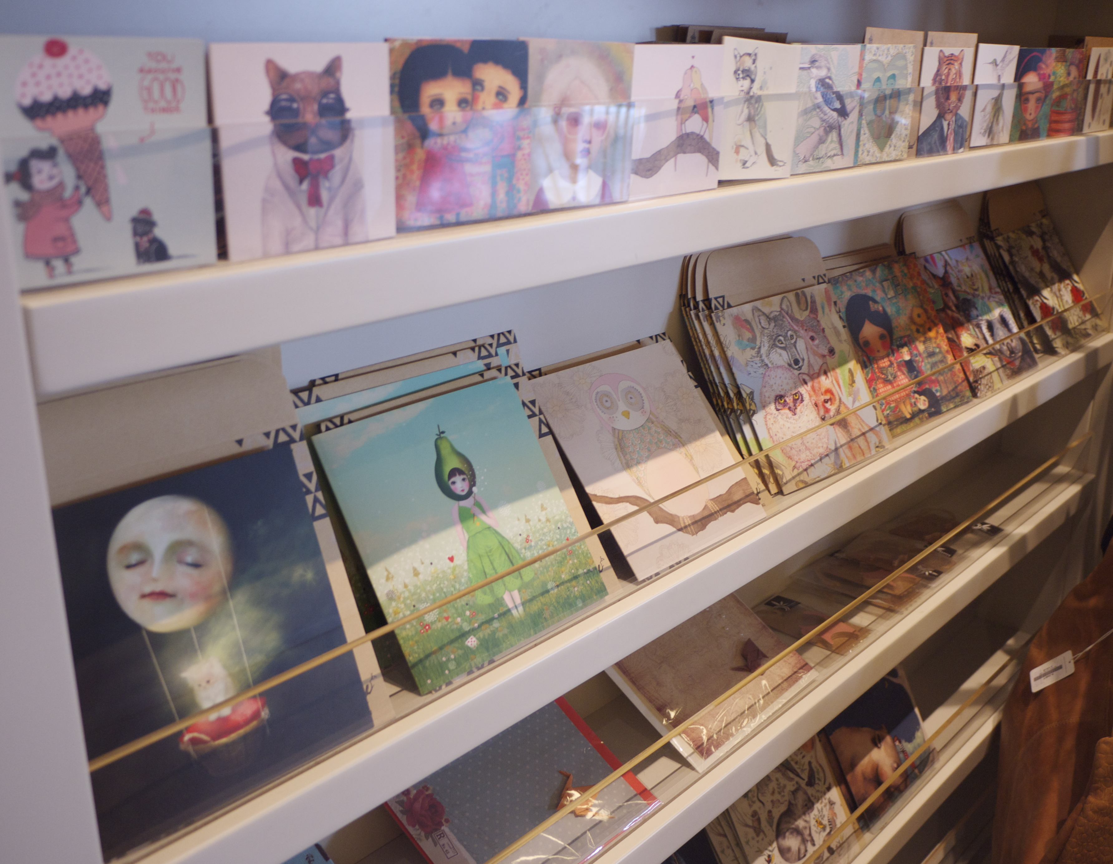 Greeting Cards in Papaya Mosman