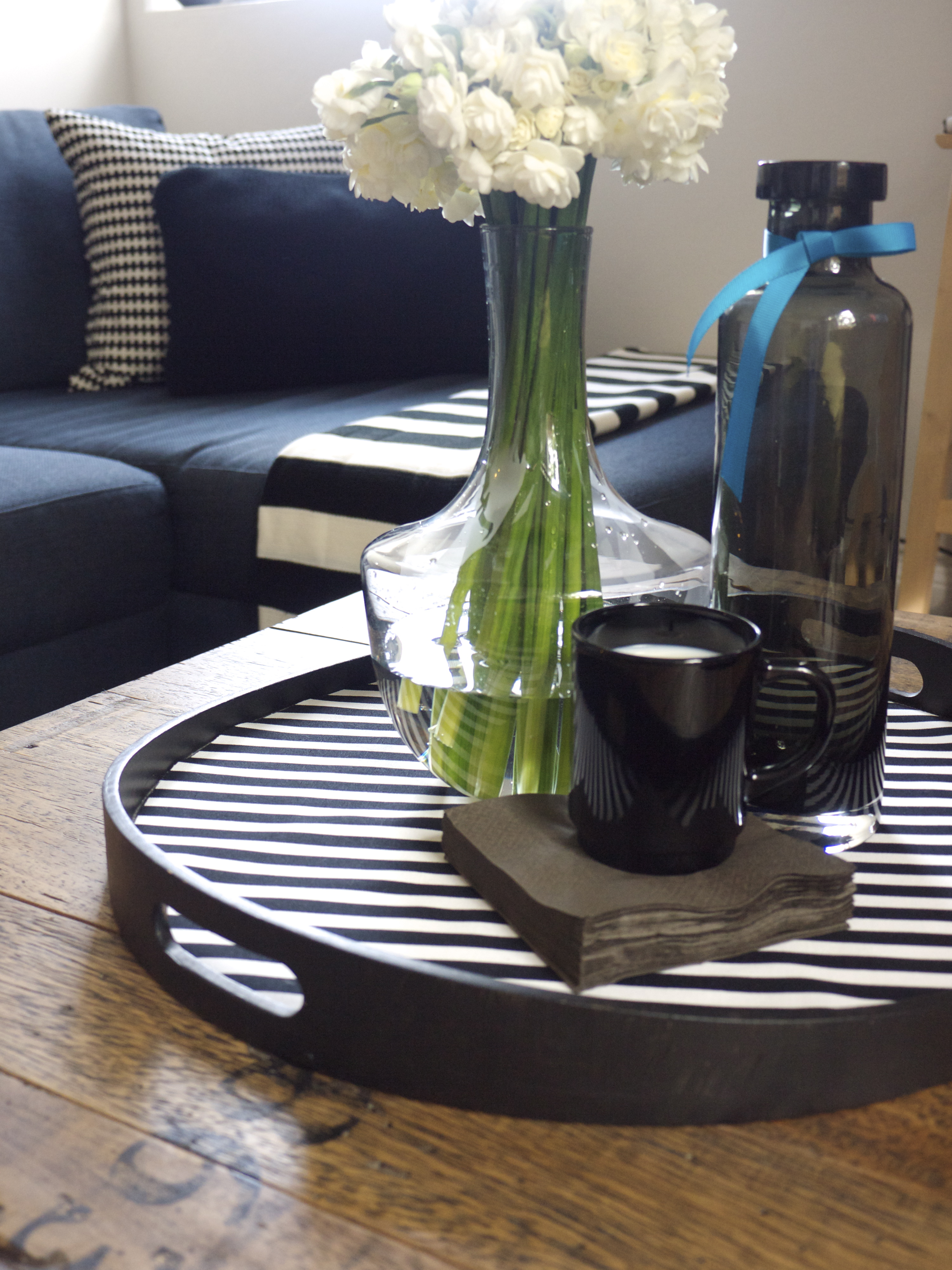 IKEA Hacks - IKEA Serving Tray Makeover - The Finished Product - Styled!