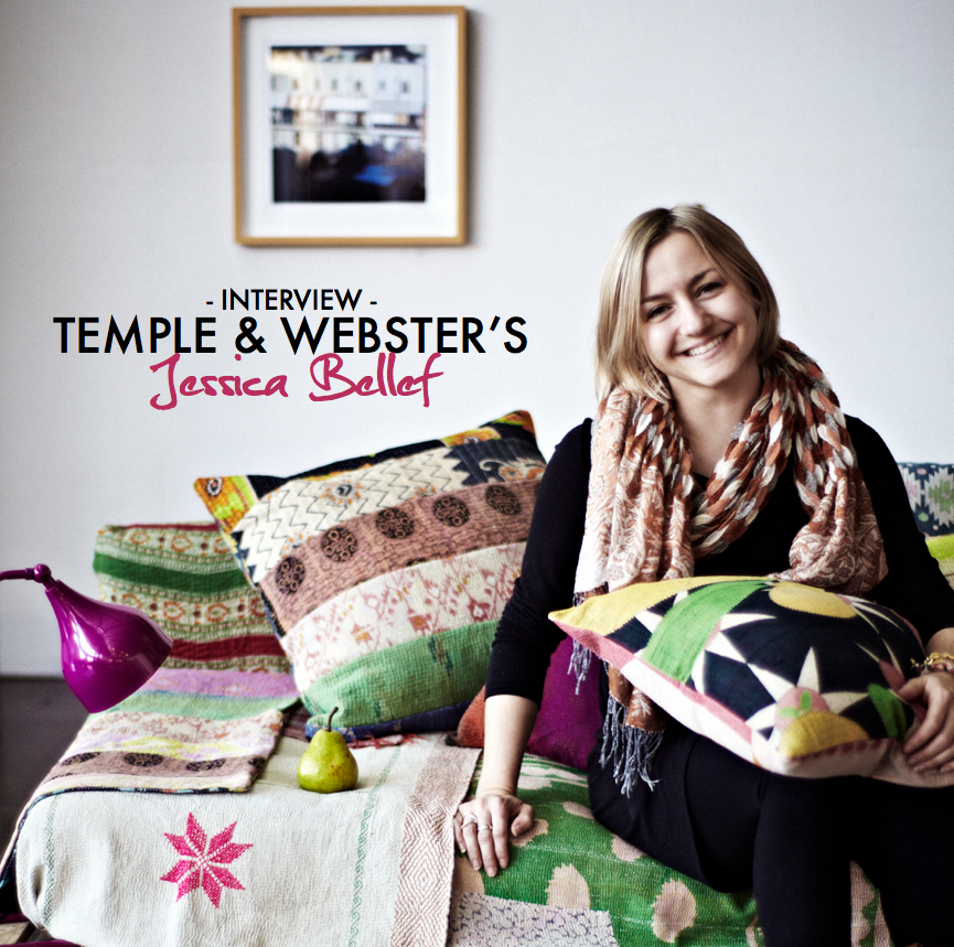 Temple & Webster Head of Styling Jessica Bellef