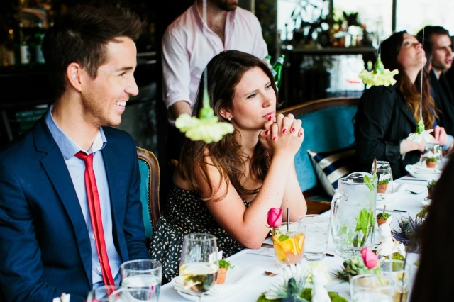 Chris and Anna - High Tea at The Home Spring Launch