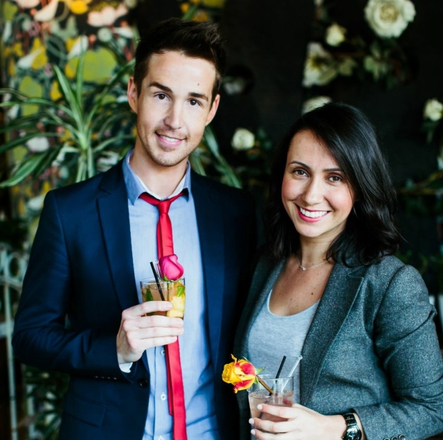 Chris and Marjorie - High Tea at The Home Spring Launch