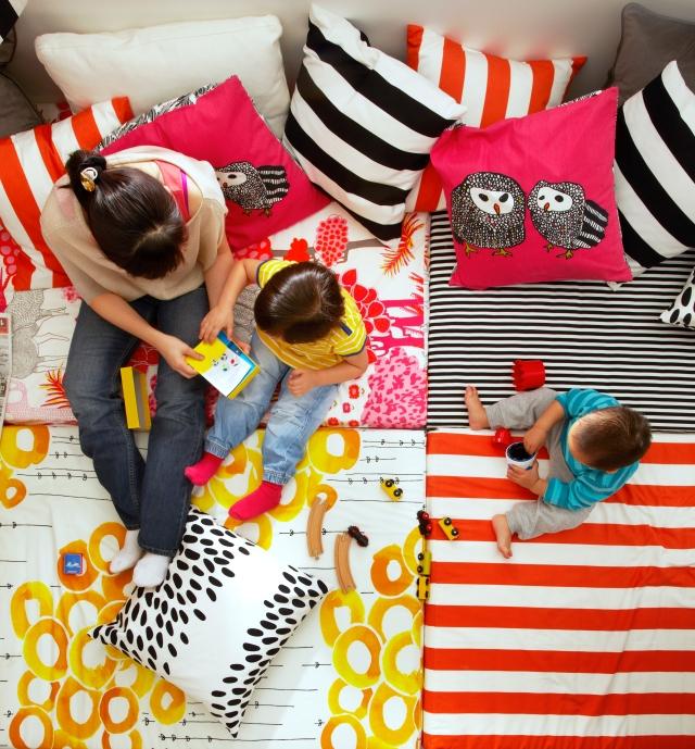 Kids Room Ideas - IKEA fabrics