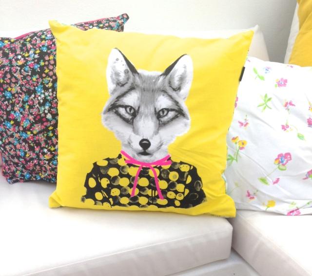 Cotton On Open House - Typo Fox Cushion