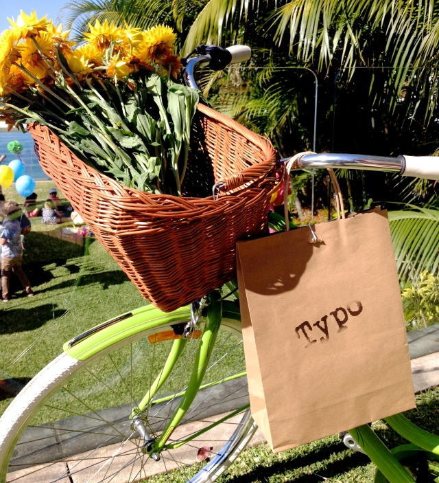 Cotton On Open House - Typo Bag and Bike