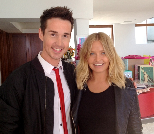 Chris from The Life Creative with Lara Bingle - Cotton On Open House
