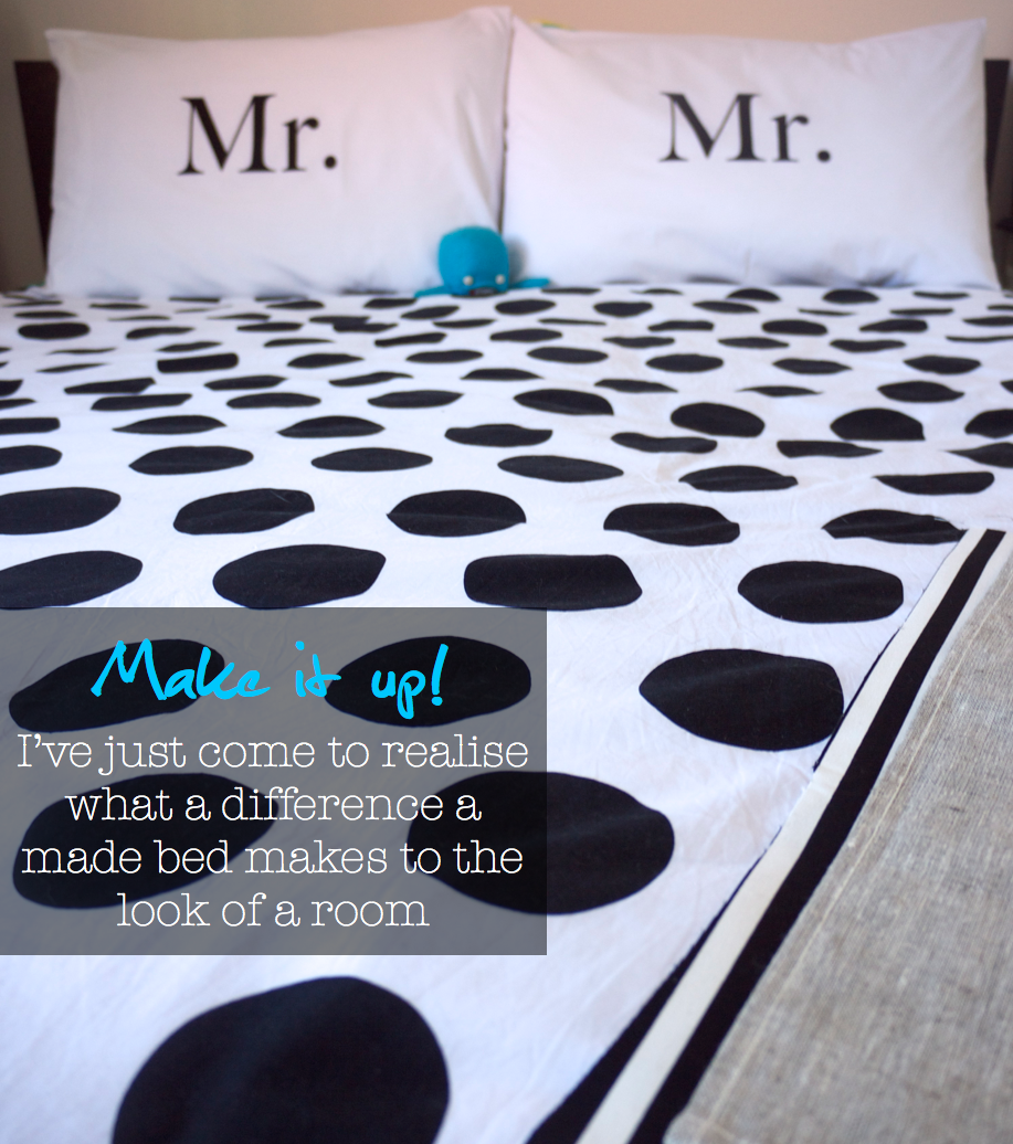 The Life Creative Headquarters - Bedroom with Kitchen Ink Pillow Cases