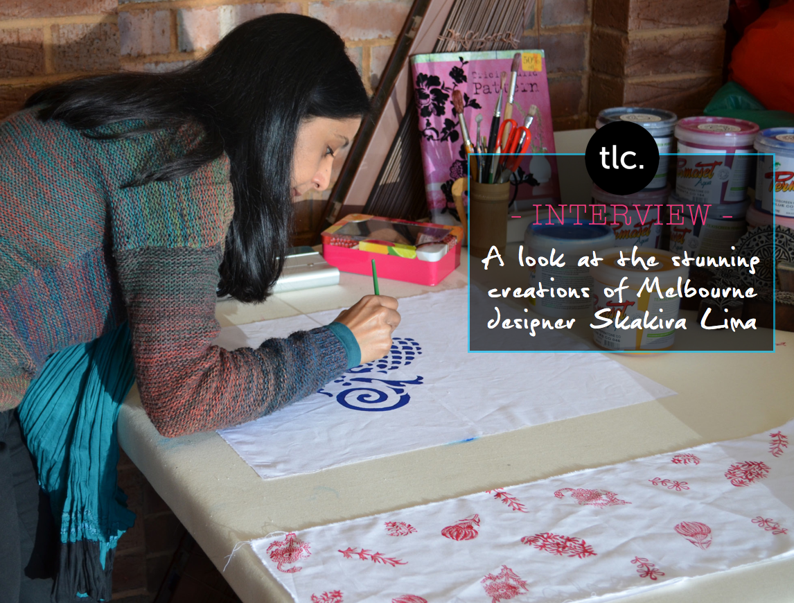 Screen Printed Textiles from Local Business, Shakiraaz