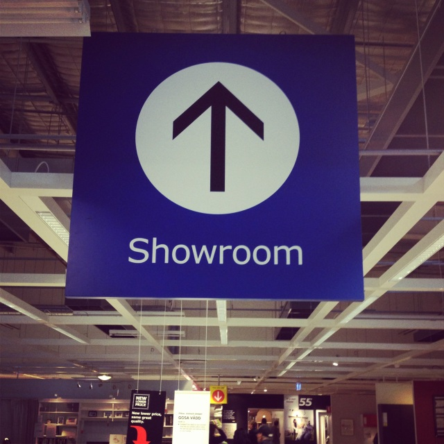 Homewares Purchase - Inside IKEA Showroom