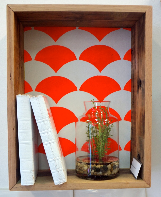Clickon Furniture - Shadow Box with Neon Paint Back