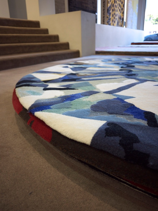 Designer Rugs - Rugs on Showroom Floor
