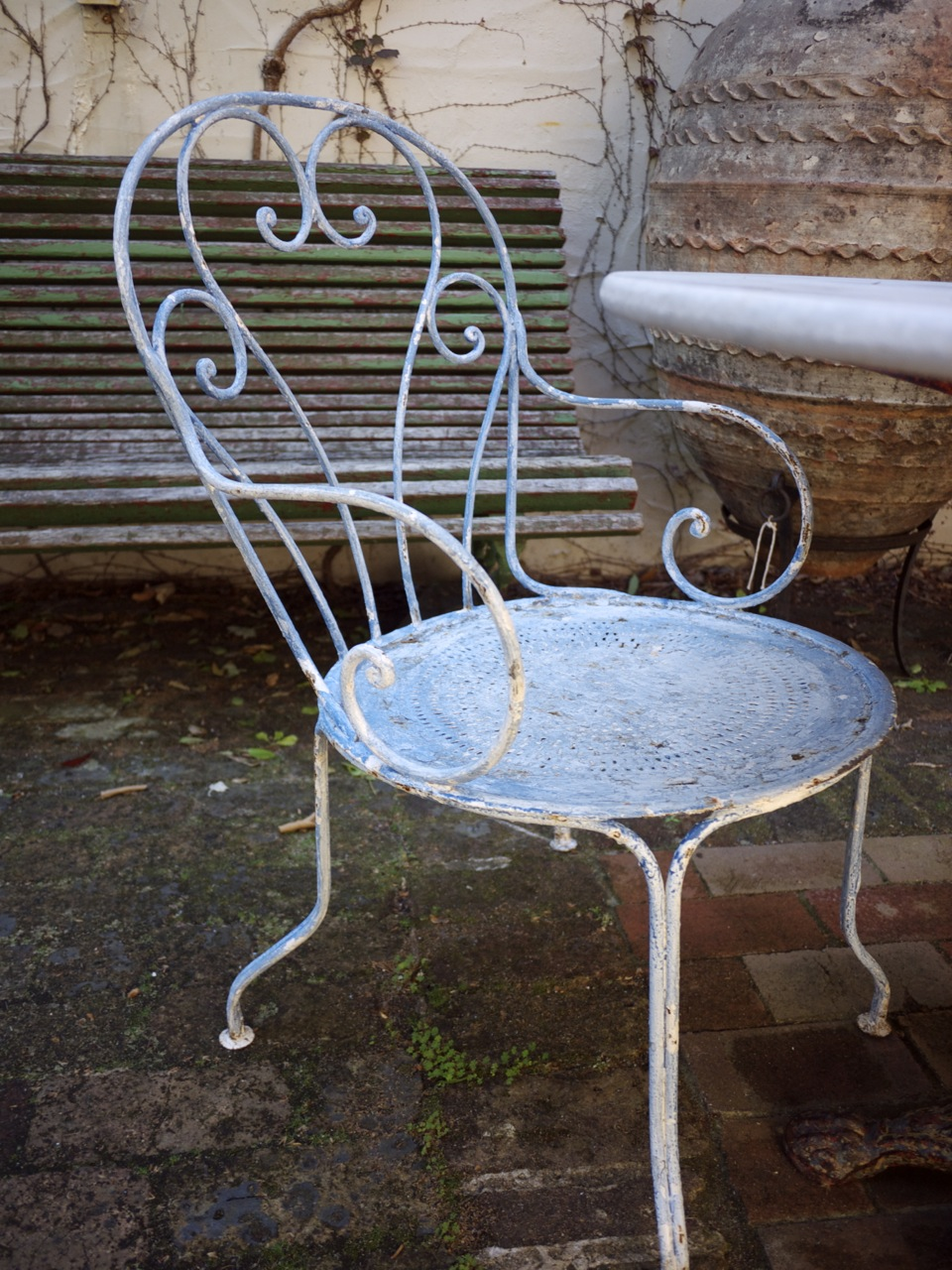 Parterre in Woollahra - Weathered Outdoor Chair