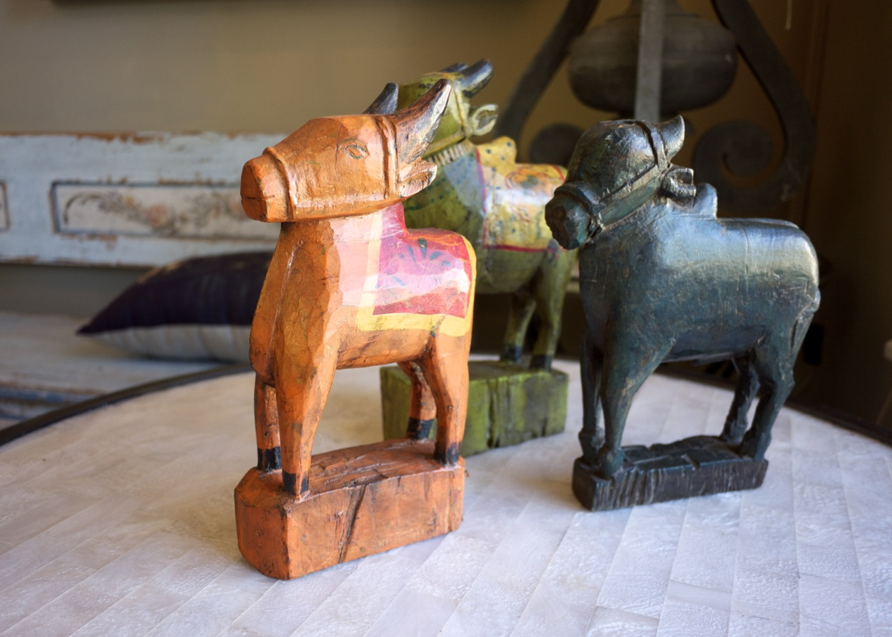 Parterre in Woollahra - Horse Ornaments