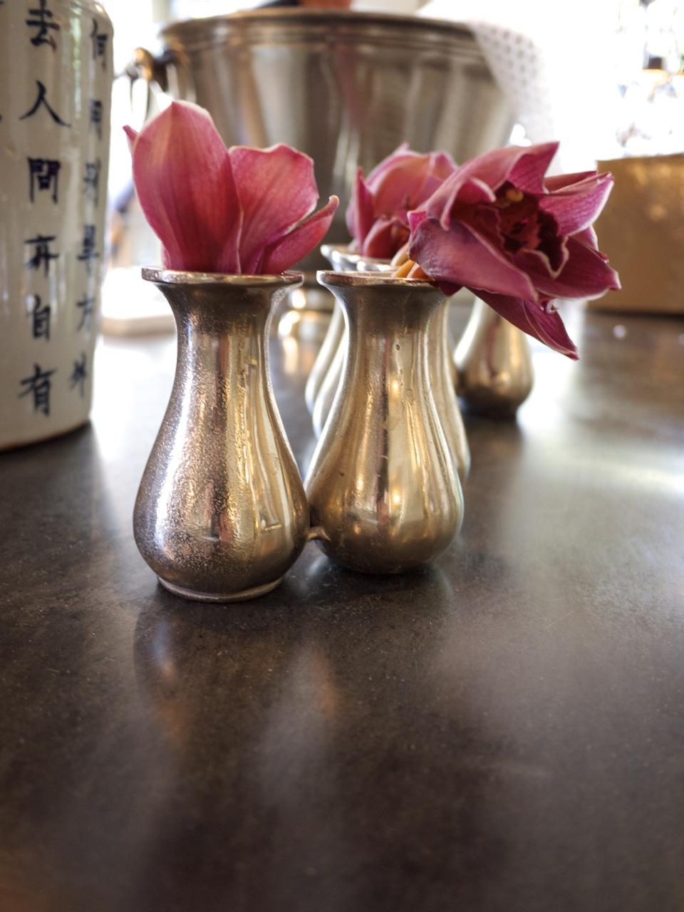 Parterre in Woollahra - Flowers in Brass Vase