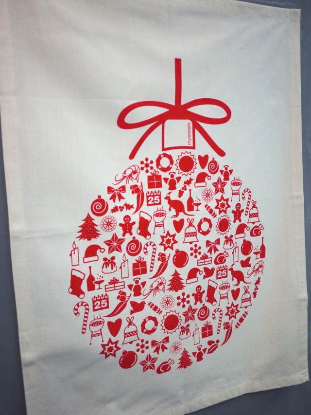Lane Cove homewares stores - Christmas tea towel