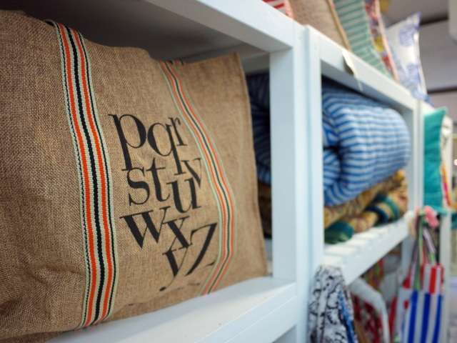 Lane Cove homewares stores - hessian bag