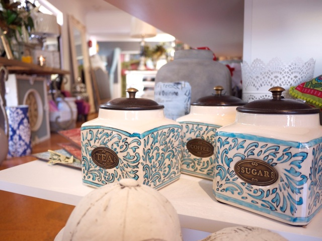 Lane Cove homewares stores - ceramic canisters pattern